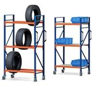 Fahrbare Regale - höhenverstellbar für jeden Einsatzzweck