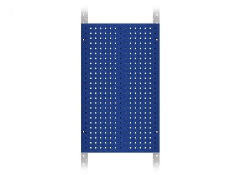 Schrägbodenregal - Seitenwände & Werkzeughalter / Maschinenhalter