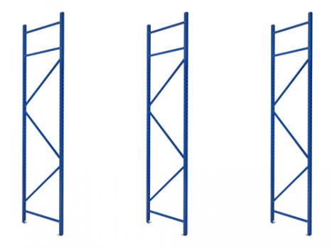 Schrägbodenregal - Ständer