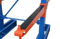 Kragarmregal Gummileiste zum Schutz 100cm