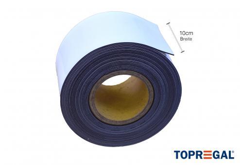 Magnetband zum Beschriften, wiederverwendbar, 10cm breit