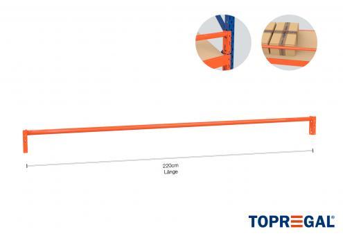 Rundtraverse 220cm für Lager- und Schrägbodenregale