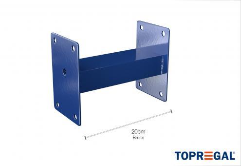 Distanzstück Palettenregal (Typ: PR15000) zur Parallelstellung und Wandbefestigung inkl. Montagematerial