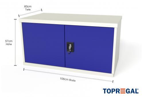 Werkzeugschrank WST 110cm/ 60cm mit 2 Türen, für MFW/MFR/MFP
