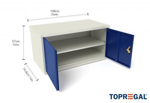 Werkzeugschrank WST 110cm/80cm mit 2 Türen,  für MFW/MFR/MFP