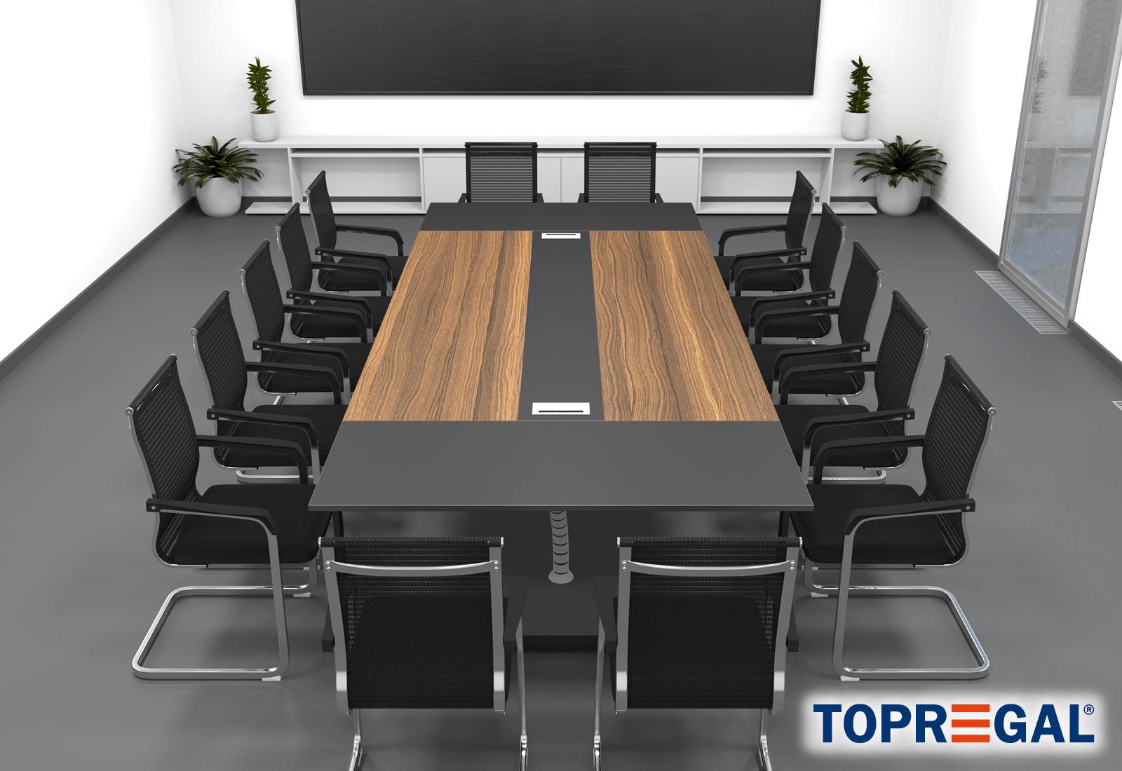 Set Stühle Konferenztisch ANJA36014 Konferenztisch MARINA UqzMpSV